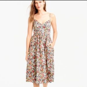 J. Crew Liberty Thorpe Floral Dress